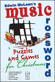 Edwin McLean's Music Crossword Puzzles and Games for Christmas