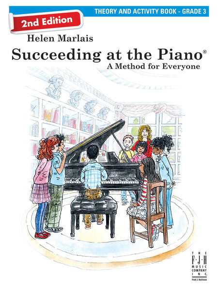 Succeeding at the Piano Theory and Activity Book - Grade 3