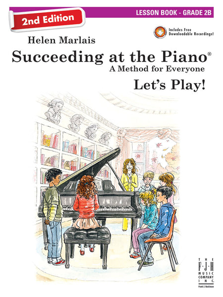Succeeding at the Piano Lesson Book - Grade 2B (2nd Edition)