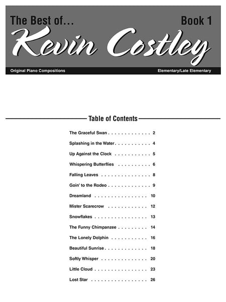 The Best of Kevin Costley, Book 1