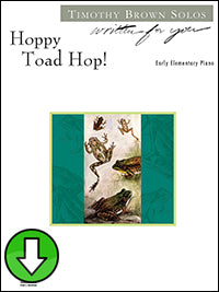 Hoppy Toad Hop! (Digital Download)