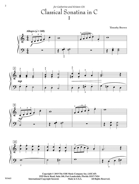 Classical Sonatina in C (Digital Download)