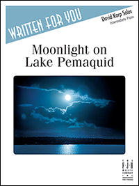 Moonlight on Lake Pemaquid
