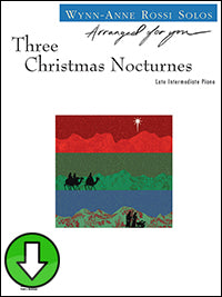 Three Christmas Nocturnes (Digital Download)