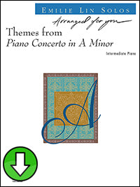 Themes from Piano Concerto in A minor (Digital Download)