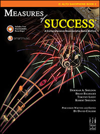 Measures of Success - E-flat Alto Saxophone Book 2