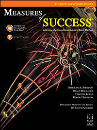 Measures of Success - B-flat Tenor Saxophone Book 2