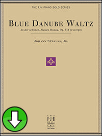 Blue Danube Waltz (Op. 314 excerpt) (Digital Download)