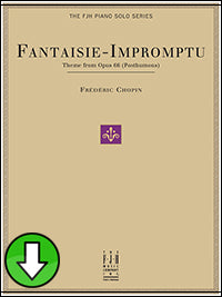 Fantaisie-Impromptu Theme from Op. 66 (Digital Download)