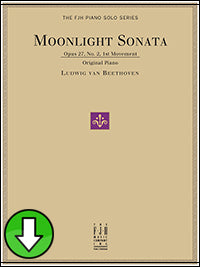 Moonlight Sonata (Op. 27, No. 2, 1st Movement) (Digital Download)