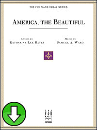 America, the Beautiful (Digital Download)