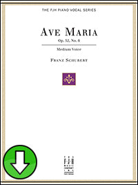 Ave Maria Op. 52, No.6 (Digital Download)