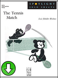The Tennis Match (Digital Download)
