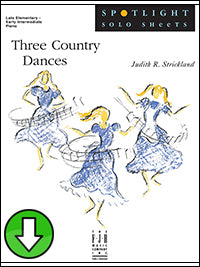 Three Country Dances (Digital Download)