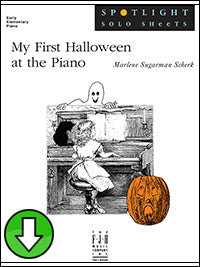 My First Halloween at the Piano (Digital Download)