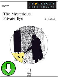 The Mysterious Private Eye (Digital Download)