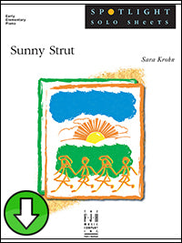 Sunny Strut (Digital Download)