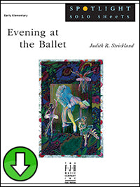 Evening at the Ballet (Digital Download)