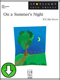 On a Summer's Night (Digital Download)