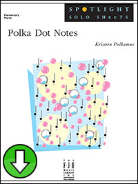 Polka Dot Notes (Digital Download)