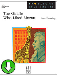 Giraffe Who Liked Mozart (Digital Download)
