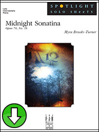 Midnight Sonatina, Op. 70, No. 15 (Digital Download)