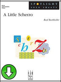 A Little Scherzo (Digital Download)