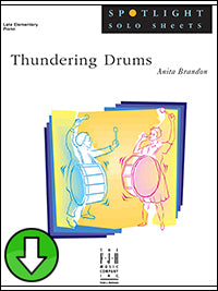 Thundering Drums (Digital Download)
