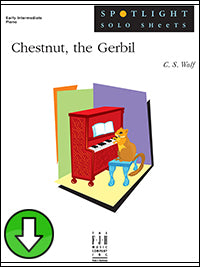 Chestnut, the Gerbil (Digital Download)