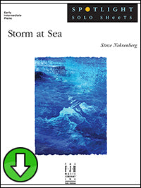 Storm at Sea (Digital Download)