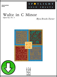 Waltz in C Minor, Op. 63, No. 1 (Digital Download)