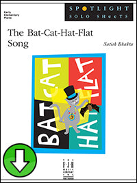 The Bat-Cat-Hat-Flat Song (Digital Download)