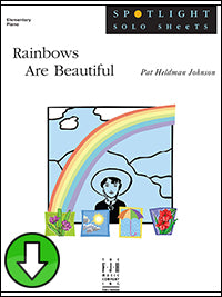 Rainbows Are Beautiful (Digital Download)