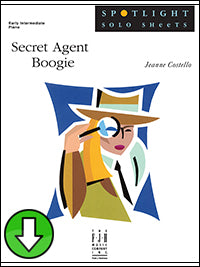 Secret Agent Boogie (Digital Download)