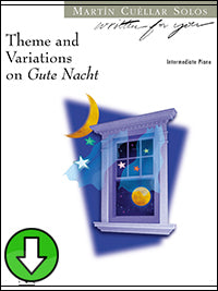 Theme and Variations on Gute Nacht (Digital Download)