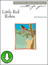 Little Red Robin (Digital Download)