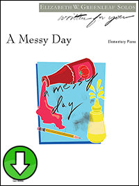A Messy Day (Digital Download)