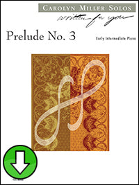 Prelude No. 3 (Digital Download)