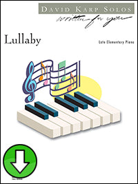 Lullaby (Digital Download)