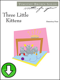 Three Little Kittens (Digital Download)