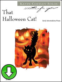 That Halloween Cat! (Digital Download)
