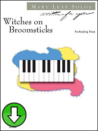 Witches on Broomsticks (Digital Download)