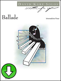 Ballade (Digital Download)