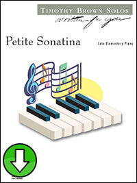 Petite Sonatina (Digital Download)