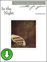 In the Night (Digital Download)
