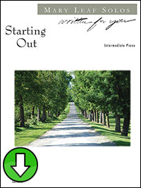 Starting Out (Digital Download)