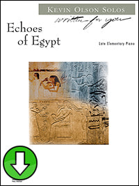 Echoes of Egypt (Digital Download)