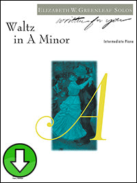 Waltz in A Minor (Digital Download)