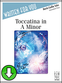 Toccatina in A Minor (Digital Download)