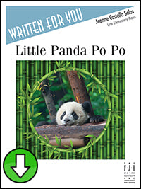 Little Panda Po Po (Digital Download)